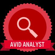 Analysis Badge