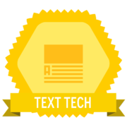 Texts Badge