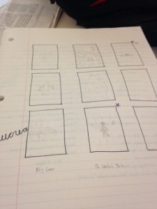 Drafts for doodles.  Speaks to my lack of artistic talent.